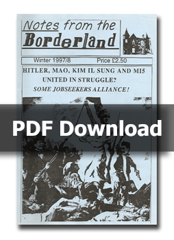 NOTES FROM THE BORDERLAND - Issue 1 (PDF Download only)