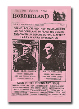NOTES FROM THE BORDERLAND - Issue 3