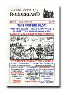 NOTES FROM THE BORDERLAND - Issue 4