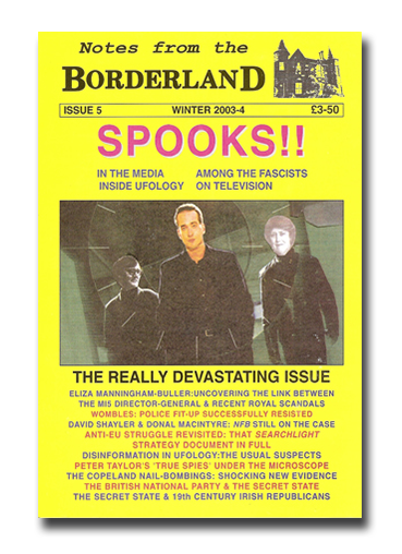 NOTES FROM THE BORDERLAND - Issue 5
